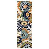 Jaipur Belize Indoor / Outdoor Floral Runner Rug - RUG141381