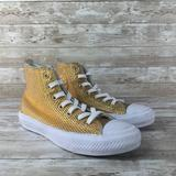 Converse Shoes   Converse Chuck Taylor All Star Ii Hi Womens 6.5   Color: Gold/White   Size: 6.5