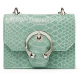 Mini Paris Mini Clutch Bag - Green - Jimmy Choo Clutches