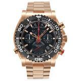 Men's Rose Goldtone Stainless Steel Precisionist Quartz Chronograph Bracelet Watch - Pink - Bulova Watches
