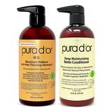 Pura D'or Argan Oil Conditioner - Maximum Defense Anti-Hair-Thinning Shampoo & Biotin Conditioner