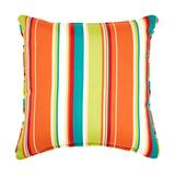 """16"""" Sq. Toss Pillow by BrylaneHome in Covert Breeze"""
