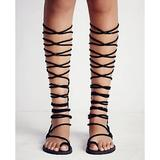 Free People Shoes | Free People X Jeffrey Campbell Aleyla Sandal | Color: Black | Size: 7.5
