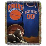 Knicks Vintage Throw by NBA in Multi