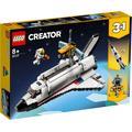 LEGO Konstruktionsspielsteine Spaceshuttle-Abenteuer (31117), Creator, (486 St.) bunt Kinder Bausteine Bausätze Bauen Konstruieren