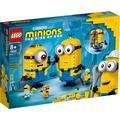 LEGO Konstruktionsspielsteine Minions-Figuren Bauset mit Versteck (75551), Minions, (876 St.), Made in Europe bunt Kinder Ab 6-8 Jahren Altersempfehlung