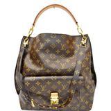 Louis Vuitton Bags | Louis Vuitton Metis Hobo Monogram Canvas Handbag | Color: Brown | Size: Os