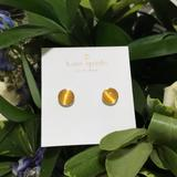 Kate Spade Jewelry   Kate Spade Forever Gems Yellow Tiger Eye Earrings!   Color: Yellow   Size: Os