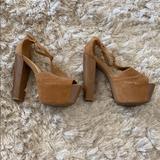 Jessica Simpson Shoes | Platform Sandals | Color: Brown | Size: 9