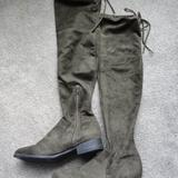 American Eagle Outfitters Shoes   American Eagle Over The Knee Boot Size 8   Color: Black/Green   Size: 8