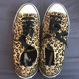 Converse Shoes | Leopard Print Converse W11 - Brand New | Color: Black/Brown | Size: 11