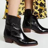 Free People Shoes | Free People Frontier Cowboy Boot New 36 | Color: Black | Size: 36