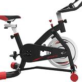 HMBB Exercise Bikes, Belt Drive Indoor Cycling Bike with Magnetic Resistance Exercise Bikes Stationary Bike, Exercise & Fitness Equipment (Color : Black)