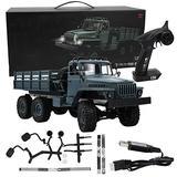 Ellenny RC Car Remote Control Car MN88S 1/16 2.4G RC Car 6WD 4CH Remote Control Car Toy Wonderful Gift for Children