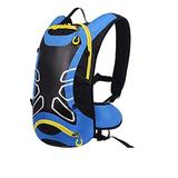 HYMD Running Backpack Bicycle Backpack Ultralight Sport Riding MTB Hydration Backpack 12L Bike Bicycle Cycling Backpack Water Bag (Color : Only Blue Backpack)