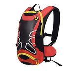 HYMD Running Backpack Bicycle Backpack Ultralight Sport Riding MTB Hydration Backpack 12L Bike Bicycle Cycling Backpack Water Bag (Color : Only Red Backpack)
