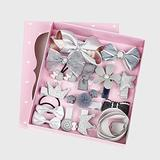 18 Girls' Hairpin Cute Hairpin Baby Hairpin Hair Accessories Ponytail Hair Clip Set, Baby Girl Young Children, A Variety of Styles