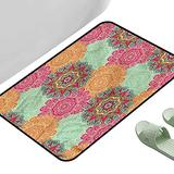 """Entrance Modern Area Rugs Antique Tribal 23.5"""" x 15.5"""" Rectangle Personalized Floor mats"""