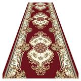 XXIOJUN Long Area Rugs, The Rug House Hallway Hall Runner Stair Runner Rug Carpets Border Rug Narrow Rugs, Rubber Backed for Home Decor Custom Size (Color : A, Size : 110x100cm)