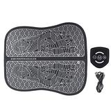 TMISHION Foot Massager Shiatsu Foot Massage Cushion EMS Physiotherapy Technology Foot Massager is Suitable for Relaxing Legs at Home and Office(Charging Model)