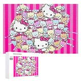 Piece Jigsaw Puzzle for Adults, Lots of Hello Kitty Puzzle DIY Kit Wooden Puzzle Modern Home Decor Unique for Lovers or Friends 1000 PCS