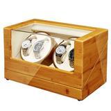MingshanAncient Watch Winder w/ Quiet Motors, Size 12.2 H x 16.8 W x 10.2 D in   Wayfair LCM503B07MZRPT1M