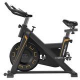 ihometea Exercise Bike Bicycle Fitness Exercise Aerobic Exercise Home Indoor Metal in Black | Wayfair I02YTH200513341