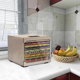 Ktaxon 10 Tray Professional Food Dehydrator in Gray, Size 16.73 H x 19.69 W x 18.7 D in   Wayfair 528760517205