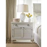 Tommy Bahama Home Glades Nightstand Wood in Brown/Gray/Red, Size 34.5 H x 36.0 W x 19.0 D in   Wayfair 01-0570-623