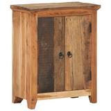 Loon Peak® Rahima Solid Wood 2 - Door Accent Cabinet Wood in Brown, Size 29.53 H x 23.62 W x 12.99 D in   Wayfair E70FE5777CD34939B8458ED8CE44C8B6