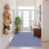 Foundry Select Madson Extra Long Cotton Area Rug Runner Reversible Hand Woven Cotton Throw Rug Floor Mat Carpet Runner For Kitchen Bedroom Entryway Laundry Room Cotton