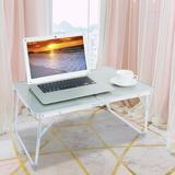 Inbox Zero Portable Multifunction Laptop Desk Metal in Green, Size 11.2 H in   Wayfair 5836F8CF080E44AC869A76B0B5F29DA7