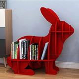 """Harper Orchard Brooklynn 20"""" H 11"""" W Plastic Chip Resistant Cube Unit Book Plastic in Red, Size 20.0 H x 11.0 W x 21.0 D in 
