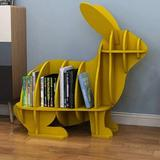 "Harper Orchard Brooklynn 20"" H 11"" W Plastic Chip Resistant Cube Unit Book Plastic in Yellow, Size 20.0 H x 11.0 W x 21.0 D in | Wayfair"