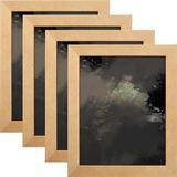 Latitude Run® Maddyx 4 Piece Gallery Wall Set Frame in Yellow, Size 25.5 H x 37.5 W x 0.75 D in | Wayfair 7BF7D90E10AE4FDDBB78BE5A0665F61A