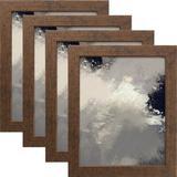 Latitude Run® Maddyx 4 Piece Gallery Wall Set Frame in Red/Brown, Size 25.5 H x 37.5 W x 0.75 D in | Wayfair B8023091E20C4B72A11F69895E693CDA