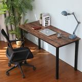 """17 Stories Special 55"""" Writing Computer Desk Modern, Home Computer Desk For Home Office, Sturdy Writing Desk Study Table Gaming Table Wood/Metal"""