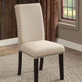 Red Barrel Studio® Kymbella Side Chair Wood/Upholstered/Fabric in Black/Brown/Green, Size 39.0 H x 18.25 W x 24.0 D in | Wayfair