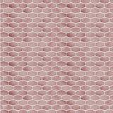 "Walplus 34"" x 88"" Aluminum Peel & Stick Mosaic Tile Metal in Pink, Size 6.07 H x 12.01 W x 0.01 D in   Wayfair WT1722X4"