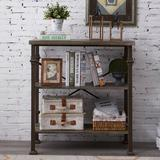 Williston Forge 5-Tier Modern Industrial Bookshelf w/ Sturdy Metal Frame, Large Book Shelves For Home & Office Organizer, 62.4''Height Wood in Brown