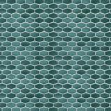 "Walplus 34"" x 88"" Aluminum Peel & Stick Mosaic Tile Metal in Green, Size 6.07 H x 12.01 W x 0.01 D in   Wayfair WT1723X4"