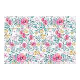 "Walplus 6"" x 6"" PVC Peel & Stick Field Tile Vinyl/PVC in Pink, Size 5.91 H x 5.91 W x 0.01 D in   Wayfair WT1526X2"