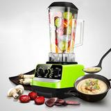 YANYU 2L Desktop Electric Mixer, Adjustable Speed Food Mixer, Juicer 110V (BPA-Free) 1300W, Used For Smoothies/Frozen/Fruit/Soy Milk in Black/Green