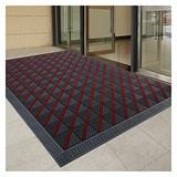 Outdoor Welcome Mats for Front Door - Heavy Duty Large Door Mat Rug Entrance Mats, Outside Entryway Doormat for High Traffic Areas, 2.5cm Thickness (Size : 105×105cm/41.3×41.3 inch)
