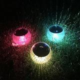 Floating Ball Pool Light Solar Powered, LED Globe Night Light Multi Color Changing Pond Light IP65 Waterproof for Pond Pool Beach Garden Backyard, Patio Decorative Night Light, Event Party 4PCS