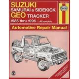 Suzuki Samurai & Sidekick Geo Tracker Automotive Repair Manual: 1986 Through 1995 (Haynes Automotive Repair Manual) by Bob Henderson (1996-04-04)