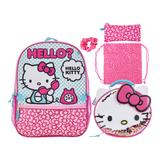 Hello Kitty! Girls 5-piece Backpack Set, Pink