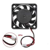 Computer Cooler CPU Cooler Master RGB Cooling Fan 2PCS 12V Mini Cooling Computer Fan - Small 40mm X 10mm DC Brushless 2-pin Dropshipping (Blade Color : Black, Blade Quantity : 9)