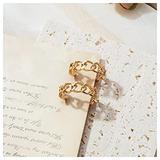 Golden Small hoop Earrings Korean Geometry Metal Gold Earrings For women Female Vintage Drop Earrings 2021 Trend Fashion Jewelry
