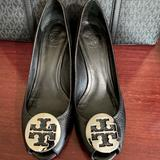 Tory Burch Shoes | Tory Burch Shoes | Color: Black/Silver | Size: 9.5